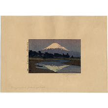 Yoshida Hiroshi: Fujiyama from Suzukawa - Japanese Art Open Database
