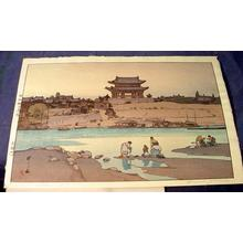 吉田博: DAIDO GATE - Japanese Art Open Database