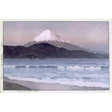 吉田博: Fuji from Miho - Japanese Art Open Database