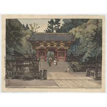 吉田博: Gold Gate - Japanese Art Open Database