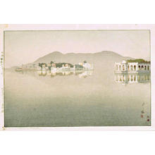 Yoshida Hiroshi: Island Palaces in Udaipur - Japanese Art Open Database