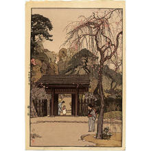 吉田博: Plum Gateway - Japanese Art Open Database