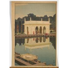 吉田博: Shalimar Garden, Lahore - Japanese Art Open Database