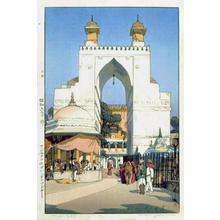 Yoshida Hiroshi: The Buland Darwaza at Ajmer - Japanese Art Open Database