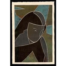 吉田遠志: Woman in Bagdad - Japanese Art Open Database