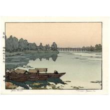 Yoshida Toshi: Yodo River - Japanese Art Open Database