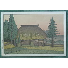 Yoshida Tsukasa: Farmhouse - Japanese Art Open Database