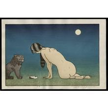 Yoshida Tsukasa: Moon - Japanese Art Open Database