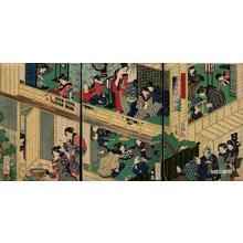 Yoshiiku Utagawa: IMAYO NENJU GHOJI - Japanese Art Open Database