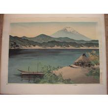 前田政雄: Mt. Fuji- Sun Set - Japanese Art Open Database