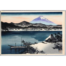 Maeda Masao: Mt. Fuji- V2- Winter - Japanese Art Open Database