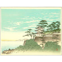 Yoshimune Arai: Castle and the Sea - Japanese Art Open Database