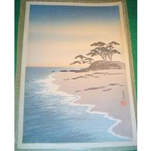 Yoshimune Arai: Coastal View - Japanese Art Open Database