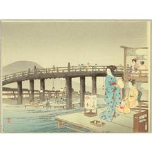 Yoshimune Arai: Evening Cool - Japanese Art Open Database