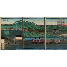 歌川芳虎: Jhoki Train - Japanese Art Open Database