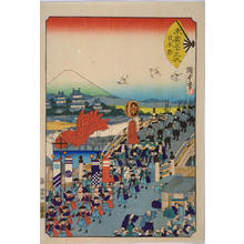 月岡芳年: Nihonbashi — 日本橋 - Japanese Art Open Database