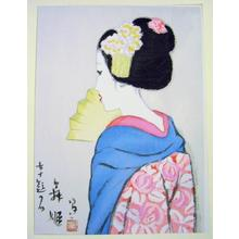 竹久夢二: Maihime- Dancer — 舞姫 - Japanese Art Open Database