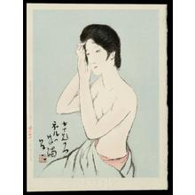 Takehisa Yumeji: Sprucing Up — Neru no Kanshoku - Japanese Art Open Database