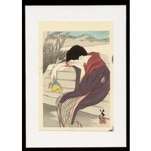 竹久夢二: A Sad Woman - Japanese Art Open Database