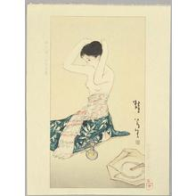 Takehisa Yumeji: Kaeru - Frog - Japanese Art Open Database