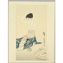 Takehisa Yumeji: Kaeru - Frog - Japanese Art Open Database