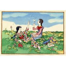 Takehisa Yumeji: Spring - Japanese Art Open Database