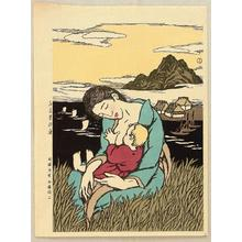 Takehisa Yumeji: The Sea at Home Town - Japanese Art Open Database