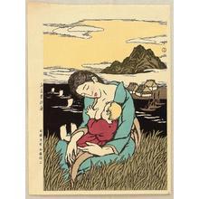 Takehisa Yumeji: The Sea at Home Town - Japanese Art Open Database