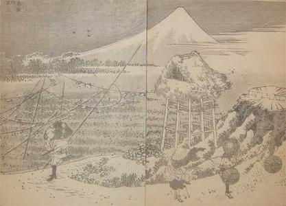 Katsushika Hokusai: Fuji in a Winter Wind - Ronin Gallery