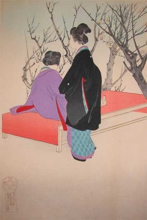 Shuntei: Plum Blossoms - Ronin Gallery