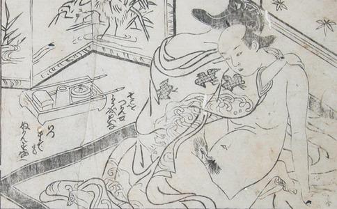 Nishikawa Sukenobu: Tender Moment - Ronin Gallery