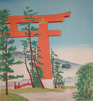Tokuriki: Torii Gate - Ronin Gallery