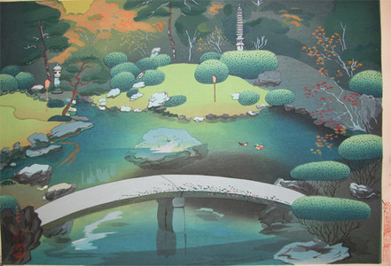 Bakufu: Japanese Garden in Autumn - Ronin Gallery