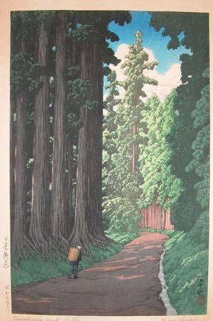 川瀬巴水: Road to Nikko - Ronin Gallery