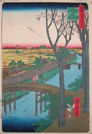 歌川広重: Koume Embankment - Ronin Gallery