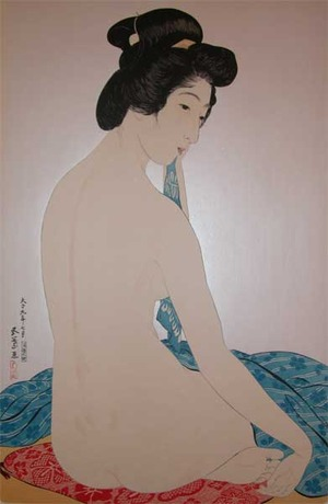 Hashiguchi Goyo: After Bath - Ronin Gallery