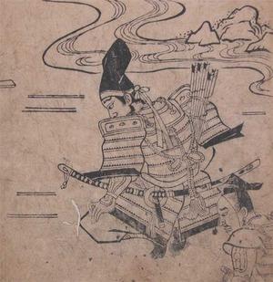 菱川師宣: Samurai Farewell - Ronin Gallery