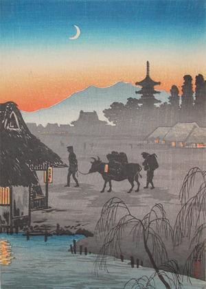 Watanabe Shotei: Returning Home - Ronin Gallery