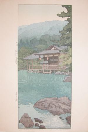 吉田博: Garden in Summer, Kyoto - Ronin Gallery