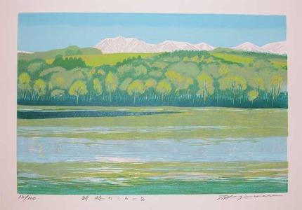Hagiwara, Tsuneyoshi: Fresh Green -2 - Ronin Gallery