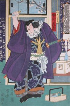 Utagawa Kuniteru: Nakamura Shikan - Ronin Gallery