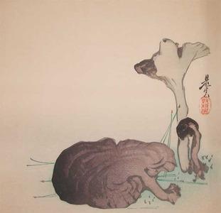 Shibata Zeshin: Mushrooms - Ronin Gallery