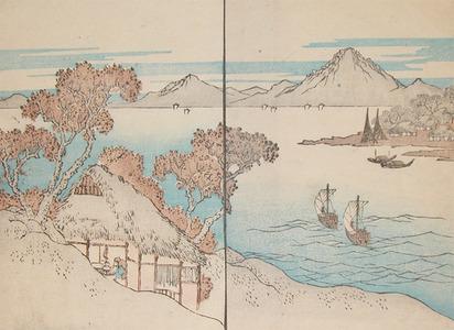 Shigenobu: Fishing Village - Ronin Gallery