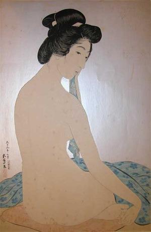 Hashiguchi Goyo: Woman After the Bath - Ronin Gallery