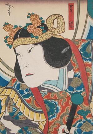 Utagawa Hirosada: Yellow Butterfly - Ronin Gallery