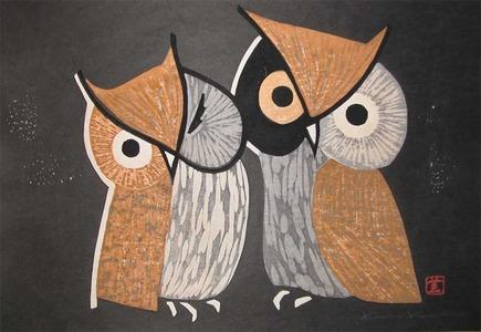 Kawano: Wise Owls - Ronin Gallery