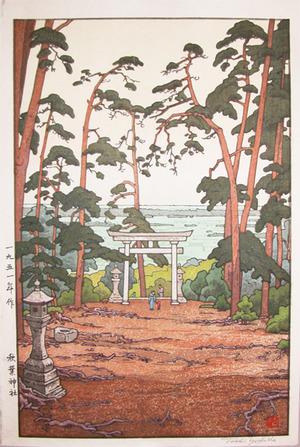吉田遠志: Akiba Shrine - Ronin Gallery