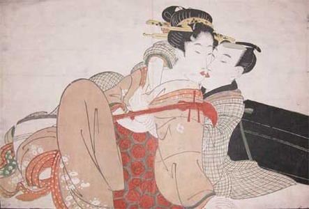 Kitagawa Utamaro: The Music Lesson - Ronin Gallery