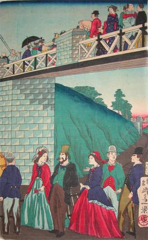 Ikkei: The Railroad Bridge - Ronin Gallery