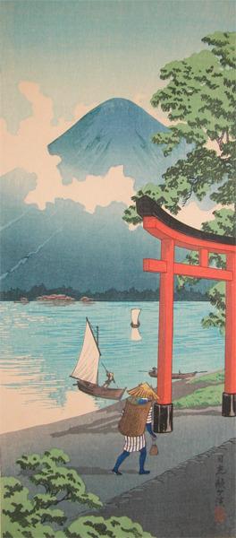 渡辺省亭: Utagahama, Nikko - Ronin Gallery